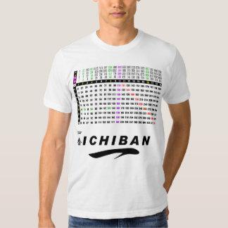 12x12 matrix a multiplication table ichiban japan t shirt