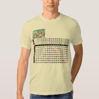 12x12 matrix a multiplication table pray for japan t-shirt