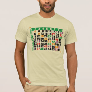 12x12 matrix a multiplication table T-Shirt