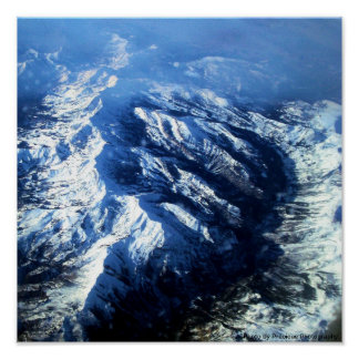12x12 Poster - mountains