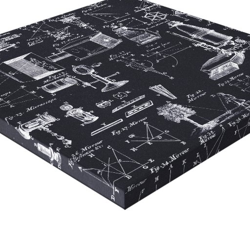 12x12 table of optics canvas zazzle for 12x12 table