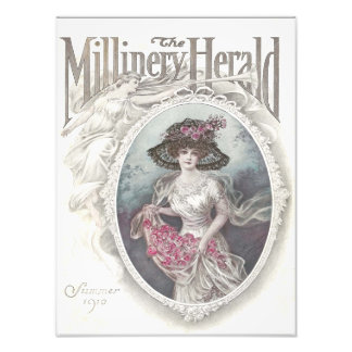 12x16 la impresión de Herald Sumer 1910 de la somb Arte Con Fotos