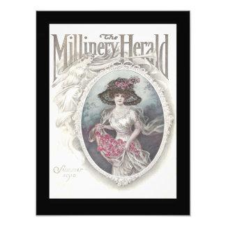 12x16 la portada 1910 de Herald de la sombrerería Impresiones Fotograficas