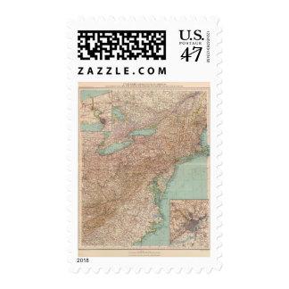 13031 Ohio, Penn, NY, Vt, NH, WVa, Va, NC Postage Stamp