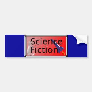 1307297521_Vector_Clipart SCIENCE FICTION rockets Bumper Stickers