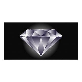 1307552490_Vector_Clipart silver diamond black Card