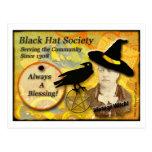 1308 Black Hat Society Post Card