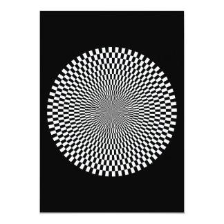 1309144895_Vector BLACK WHITE OPTICAL ILLUSIONS Card