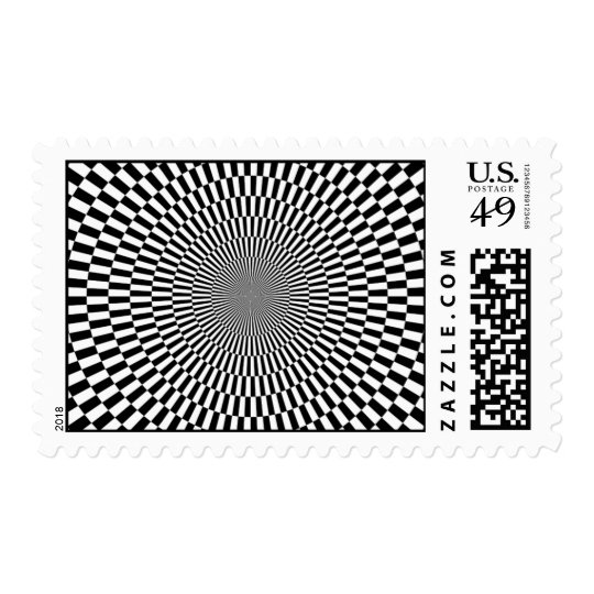1309144895_Vector BLACK WHITE OPTICAL ILLUSIONS Postage