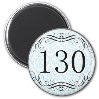 130 Area Code Fridge Magnet