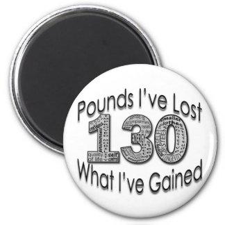 130 libras de imán perdido