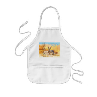130 mouths to feed kids' apron