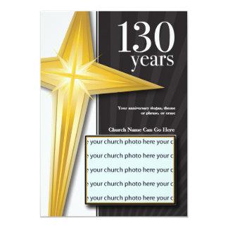 130 Year Church Anniversary Invitation