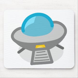 1310991458_Vector_Clipart cute alien spaceship Mouse Pad