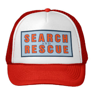 13119 SEARCH AND RESCUE OCEAN FOREST WORK VOLUNTEE MESH HAT
