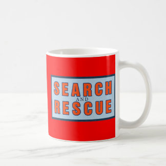 13119 SEARCH AND RESCUE OCEAN FOREST WORK VOLUNTEE CLASSIC WHITE COFFEE MUG