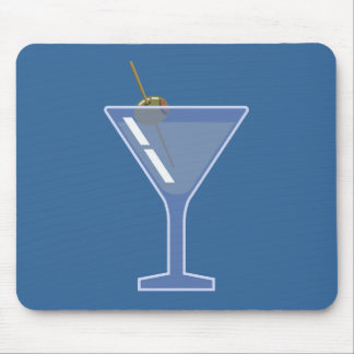 1312087474_Vector_Clipart Martini olive alcohol Mouse Pad