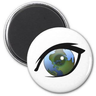 1312287950_Vector_Clipart earth eye icon logo Magnet