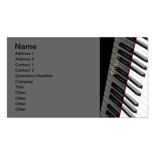 1312702225_Vector_Clipart black white Piano Business Card