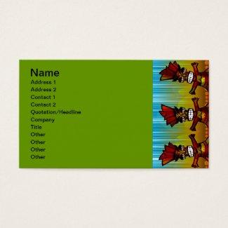 1312743176_Vector_Clipart Hawaiian Tiki men Business Card