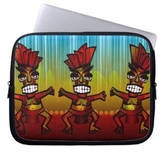 1312743176_Vector_Clipart Hawaiian Tiki men Computer Sleeves
