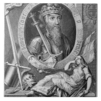 1312-77) reyes de Edward III (de Inglaterra a part Teja Cerámica