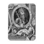 1312-77) reyes de Edward III (de Inglaterra a part Imán Rectangular