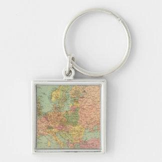 1314 Political Europe Keychain