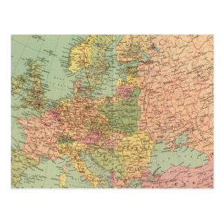 1314 Political Europe Postcard