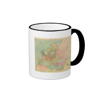 1314 Political Europe Ringer Mug