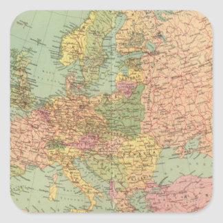 1314 Political Europe Square Sticker