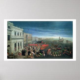 131-0057978/1 degli Schiavoni, Venecia de Riva Posters
