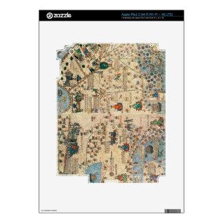 131-0058260/1 atlas catalán: Detalle de Asia, por  Pegatinas Skins Para iPad 3