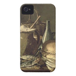 131-0058519/1 Still Life with Fish, Leeks and Brea Case-Mate iPhone 4 Case