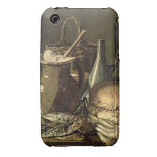 131-0058519/1 Still Life with Fish, Leeks and Brea iPhone 3 Case