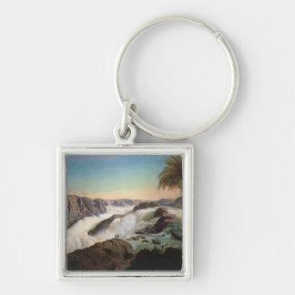 131-0059242 The Paulo Alfonso Falls, 1850 Keychain
