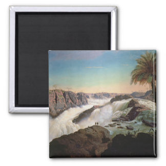 131-0059242 The Paulo Alfonso Falls, 1850 Magnet
