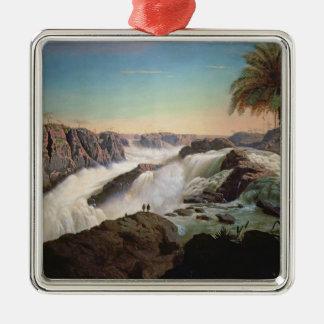 131-0059242 The Paulo Alfonso Falls, 1850 Metal Ornament