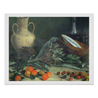 131-0059642 Still Life with Fruit and Vegetables Print