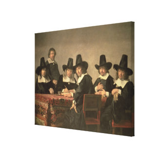 131-0635449 The Managers of the Haarlem Orphanage, Canvas Print