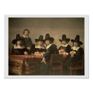 131-0635449 The Managers of the Haarlem Orphanage, Poster