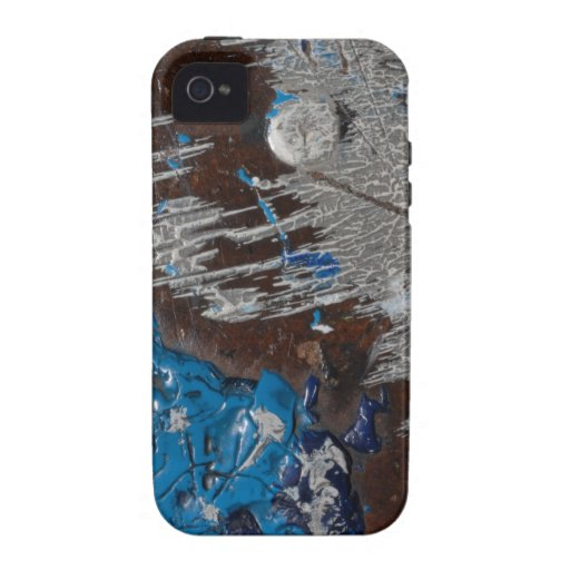#131 de pintura encontrado vibe iPhone 4 funda