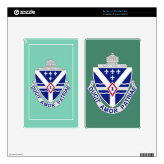 131st Infantry Regiment Kindle Fire Skins