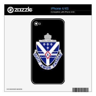 131st Infantry Regiment Skins For The iPhone 4