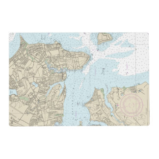 13224 BOTTOM LEFT PANEL Providence River ... Placemat