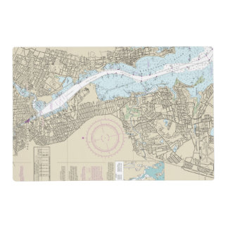 13224 TOP LEFT PANEL Providence River ... Placemat