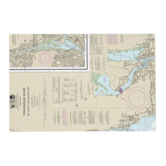 13224 TOP RIGHT PANEL Providence River ... Placemat