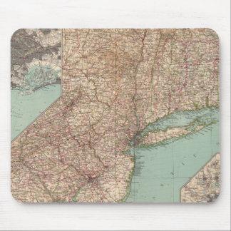 13233 Mass, Conn, RI, NJ, Del, Md Mouse Pad
