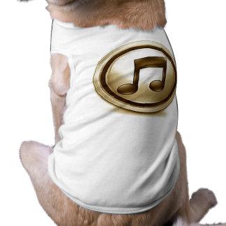 132535u7 Music icon Dog T-shirt