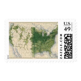 132 Improved land 1900 Postage Stamp